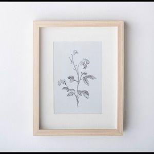 Studio McGee 11x14 Wild Blossom Framed Print
